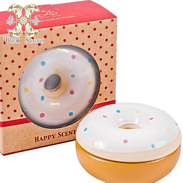 ThaiScent泰香 奶油甜甜圈擴香瓶(無附擴香精)
