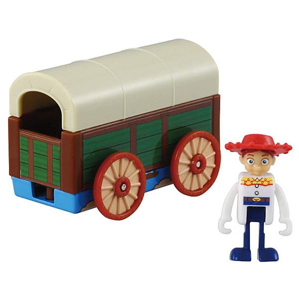 TOMICA 迪士尼小汽車 玩具總動員4  翠絲&玩具盒