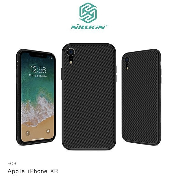 NILLKIN Apple iPhone XR 6.1吋 纖盾保護殼 碳纖維 全包覆 手機殼 保護套