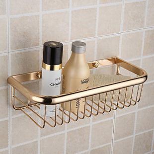 洗手間置物架金色歐式