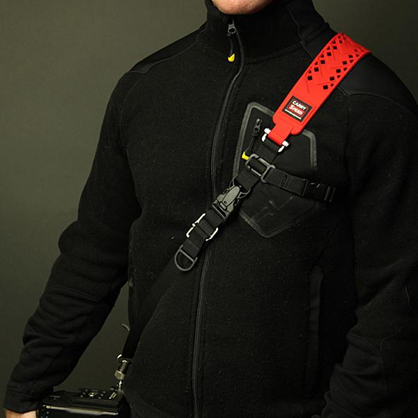 黑熊館  美國 速必達Carry Speed Prime Extreme Red 頂級極限紅色相機背帶 快槍背帶
