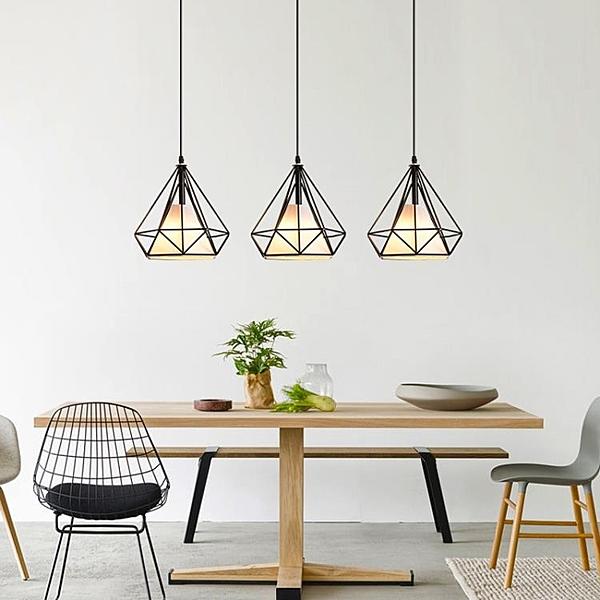 餐廳吊燈北歐三頭簡約現代創意吧臺燈個性店鋪裝飾燈