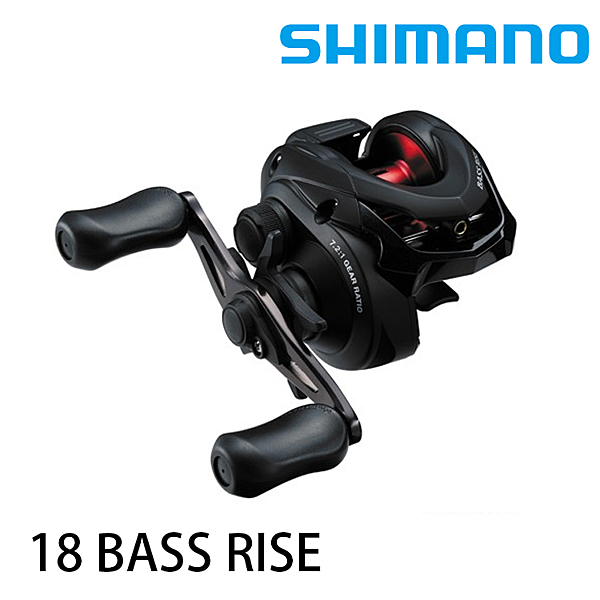 漁拓釣具 SHIMANO 18 BASS RISE [兩軸捲線器]