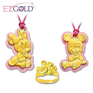 品牌-迪士尼金飾n迪士尼卡通造型金飾n獻給寶寶滿滿的祝福n迪士尼收藏家最愛n彌月送禮推薦