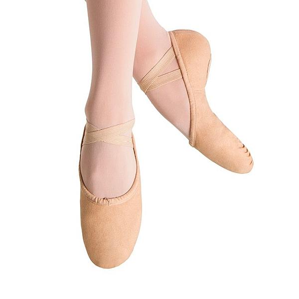 *╮寶琦華Bourdance╭*芭蕾軟鞋系列☆BLOCH帆布兩點軟鞋SO277L【80150277】