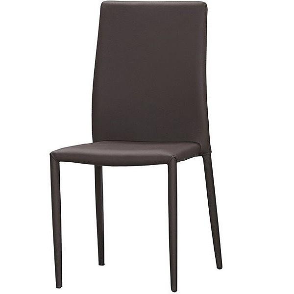 餐椅 MK-1068-9 彼得餐椅(咖啡皮)【大眾家居舘】