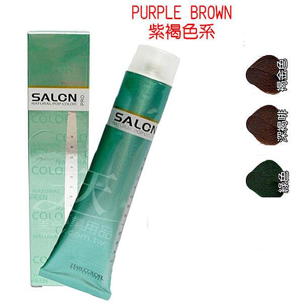 【專業推薦】狄諾 彩色護髮染髮劑 100ml 沙龍系列 (紫褐色) [28891]