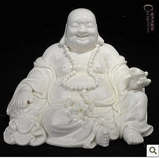 5寸陶瓷彌勒佛像