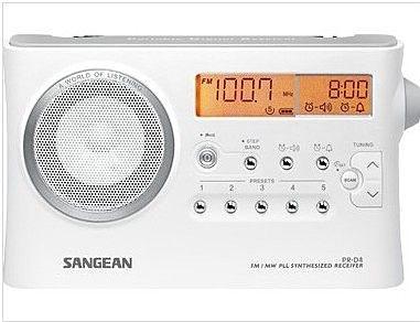 ^聖家^山進二波段調頻 / 調幅數位式時鐘收音機 PR-D4【全館刷卡分期+免運費】