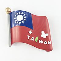 【收藏天地】國旗系列*TAIWAN國旗冰箱貼