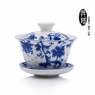 新品 水晶釉鏤空 玲瓏茶杯