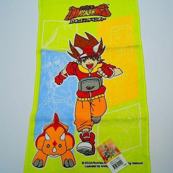 毛巾:恐龍王印花童巾/毛巾1入款式顏色隨機出貨