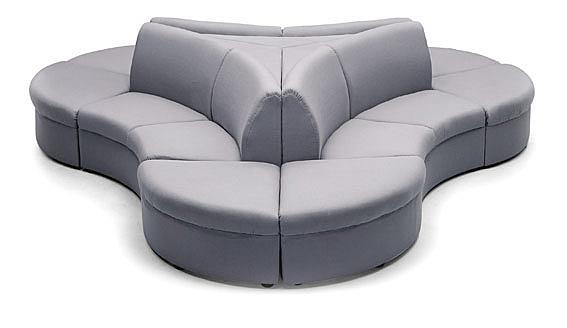 MS71-CSL-309-01S-1   組合式沙發 -單張-緹花布