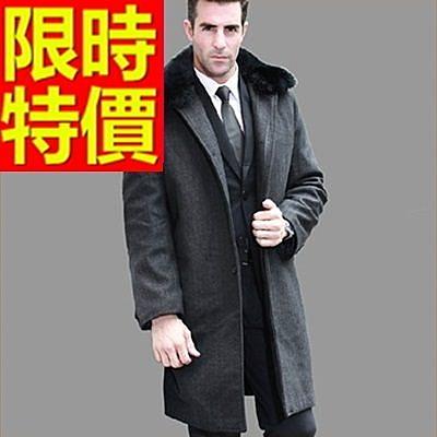 毛呢外套-羊毛韓版短版溫暖男風衣大衣62n23[巴黎精品]