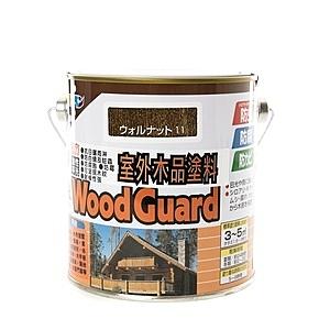 日本 ASAHIPEN 室外強力木品防蟲防腐防霉 胡桃 護木漆 0.7L