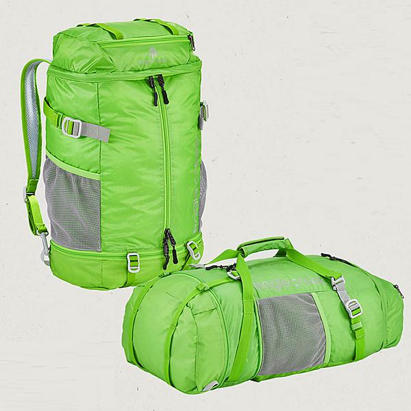 【Eagle Creek美國人氣旅遊配件】超輕量可摺疊兩用背包/旅行袋 (綠)