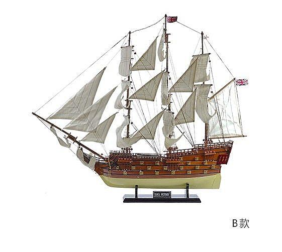 皇家勝利號 大型木質仿真帆船模型