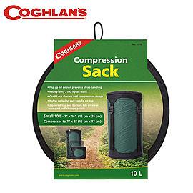 丹大戶外【Coghlans】加拿大 COMPRESSION SACK 睡袋壓縮袋10L 1116
