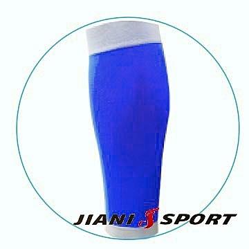 [JIANI SPORT]MST檢驗款/鐵人三項專用強壓腿套/JS13/寶藍/SMLXL/登山/慢跑/超馬/自行車/三鐵/球類/運動
