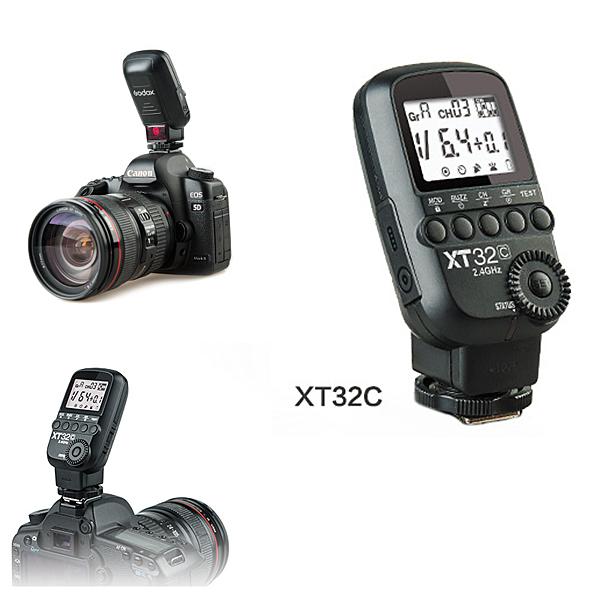 【EC數位】Godox 神牛 XT32C Canon 版本 無線電引閃發射器 閃引器 TT685 TT600 觸發器