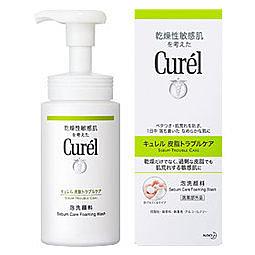 Curel 珂潤 控油保濕洗顏慕絲 150ml/全新封膜 效期2022【淨妍美肌】
