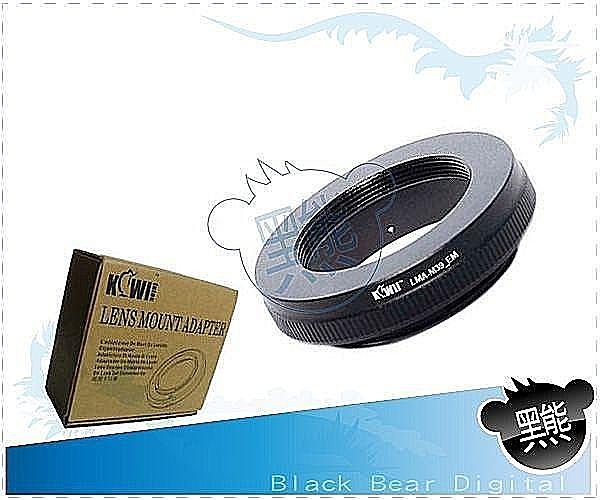 黑熊館 Leica M39 鏡頭轉Sony E-Mount 系統 NEXF3 NEX5R 機身 鋁合金鏡頭轉接環 NEX-6 NEX-7