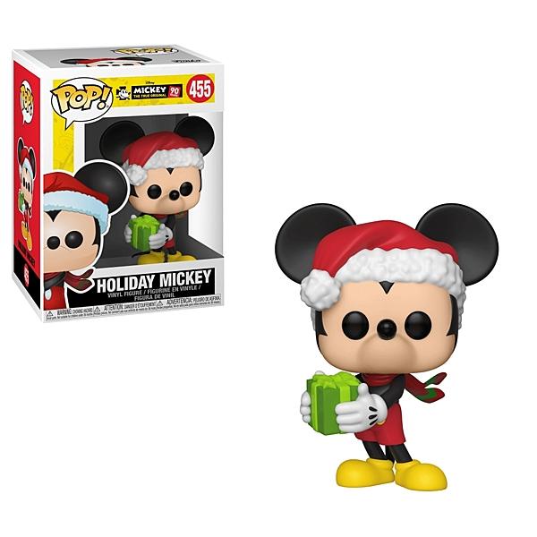 【 Funko 】 POP!系列 Q版公仔 迪士尼米奇90週年 - 假期米奇╭★ JOYBUS玩具百貨