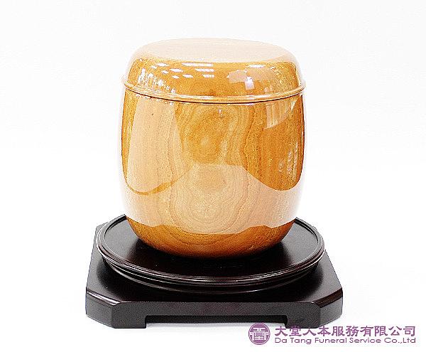 【大堂人本】A級木紋石 骨灰罐