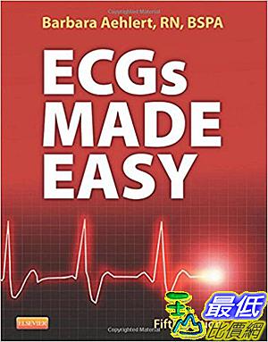 [106美國暢銷醫學書籍] Ecgs Made Easy 5th ed. Edition