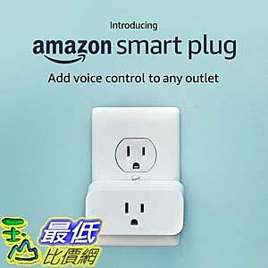 [7美國直購] Amazon Smart Plug 插座 適用 Alexa / Echo (2nd Gen) / Echo Dot (3rd Gen)
