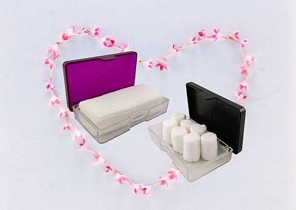 潔適康隨身盒-紙巾球&舒柔巾專用