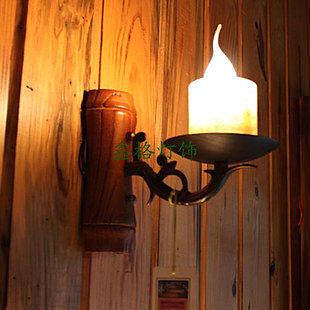 古鐵藝壁燈 美式鄉村歐式