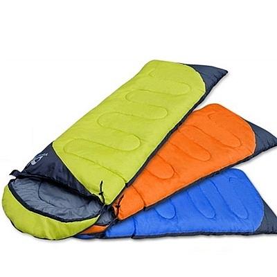 睡袋(單人)快速收納-戶外露營防風防潑水舒適登山用品3色71q12[時尚巴黎]