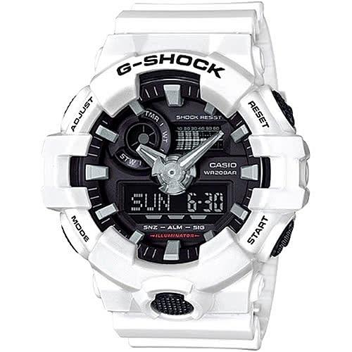 【東洋商行】免運 CASIO 卡西歐 G-SHOCK 粗曠感雙顯式運動男錶 防水手錶 GA-700-7ADR 手錶 電子錶 腕錶