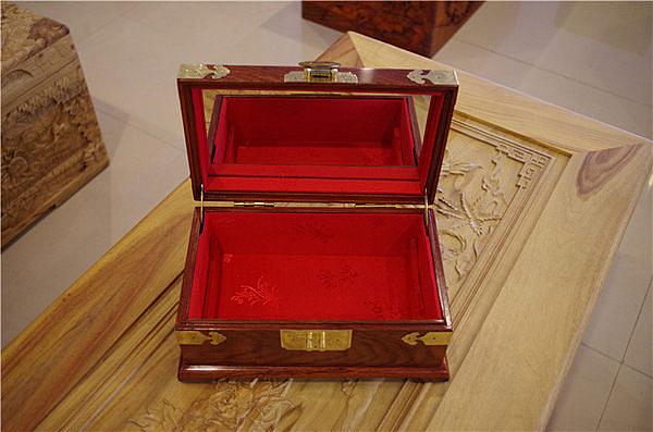 紅木飾品盒嫁妝