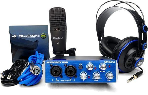 音響世界。PreSonus AudioBox Studio新款套裝數位錄音設備體