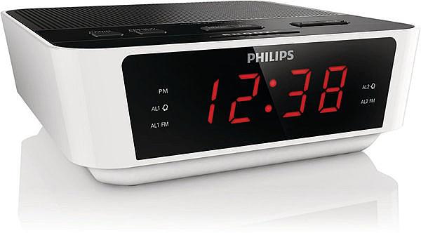^聖家^(送手機支架)飛利浦數位FM雙鬧鈴收音機 AJ3115 / AJ-3115【全館刷卡分期+免運費】