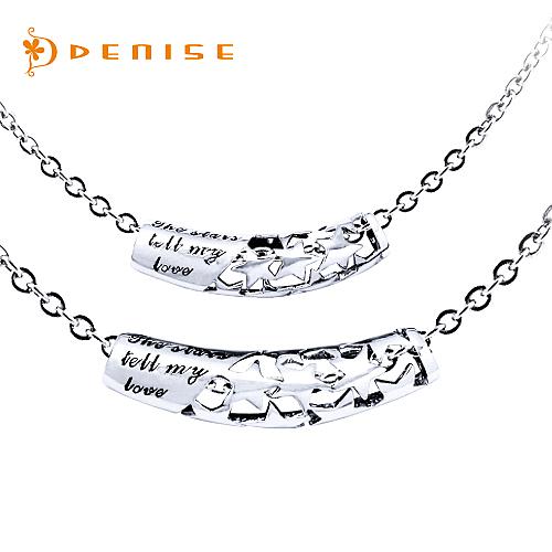 925純銀「滿天星」項墜 情人珠寶銀飾 【單個】贈白鋼鍊