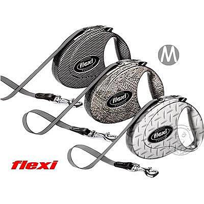 四個工作天出貨除了缺貨》德國 《Flexi》飛萊希–時尚紳士系列伸縮牽繩 (M)