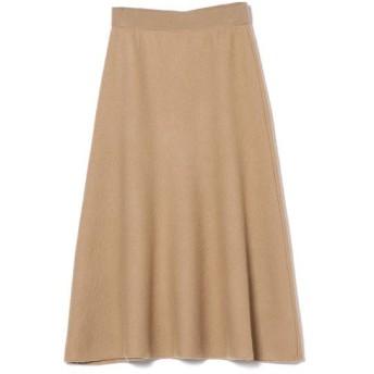 SHIPS for women / シップスウィメン PrimaryNavyLabel:ボイルドウールニットスカート