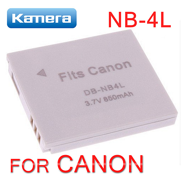 KAMERA 佳美能 鋰電池 (DB-NB4L) for Canon NB 4L 一年保固