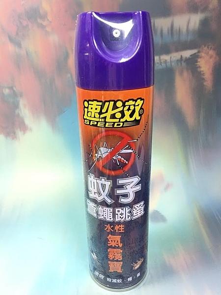 速必效 水性蚊子蒼蠅跳蚤氣霧寶【921152】殺蟲劑 驅蚊《八八八e網購