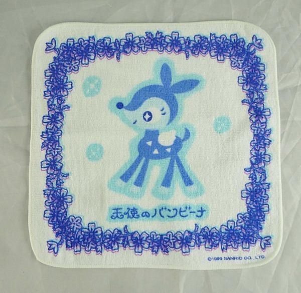 【震撼精品百貨】Sanrio 天使鹿~小方巾