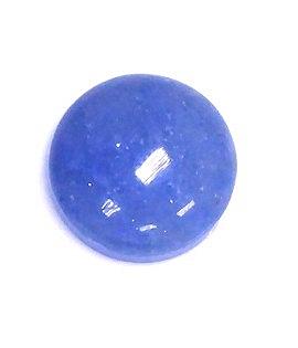 [協貿國際]天然藍石圓形戒面DIY手工飾品配件(10入價)