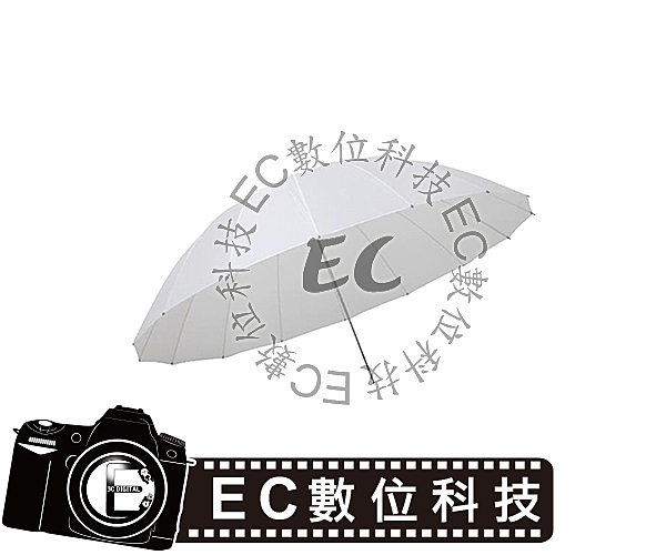【EC數位】神牛 GODOX  75吋 180cm 柔光傘 透射傘 反射傘 輕量強化纖維傘骨 無影罩