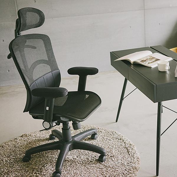 辦公椅 書桌椅 英倫【T0072】FITTER氣墊腰靠透氣網椅 MIT台灣製 完美主義ac