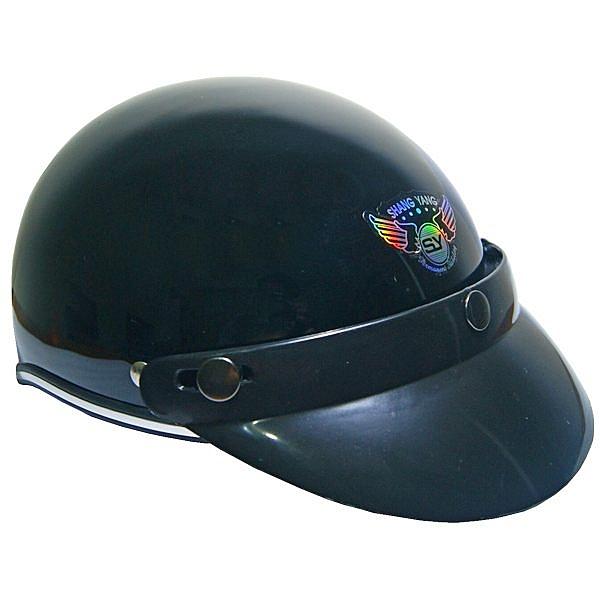 半罩式604哈利帽(黑)