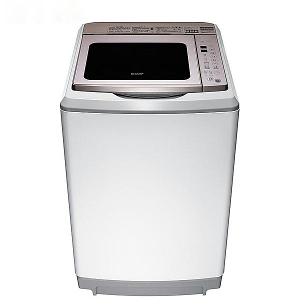 SHARP 夏普  17公斤變頻超震波洗衣機 ES-SDU17T