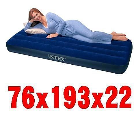 [衣林時尚] INTEX 單人充氣床 76x193x22cm 68950