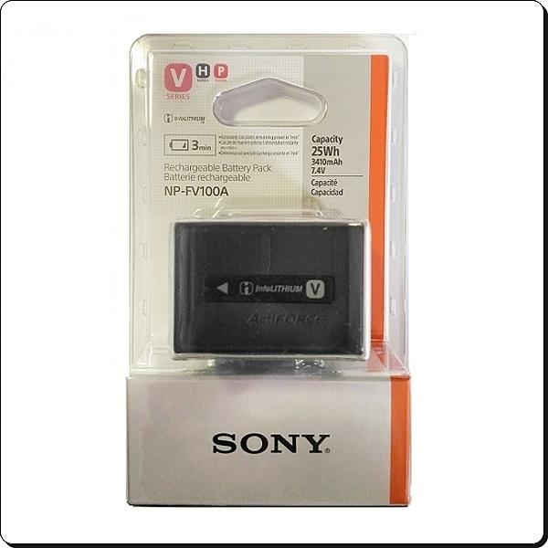 【福笙】SONY NP-FV100A 原廠盒裝電池 XR350 XR520 XR550 CX450 AX30 AX100 AX700 AXP35 AXP55 PJ675 CX900